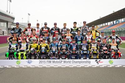 Quatorze vainqueurs sur la grille Moto2™ 2015