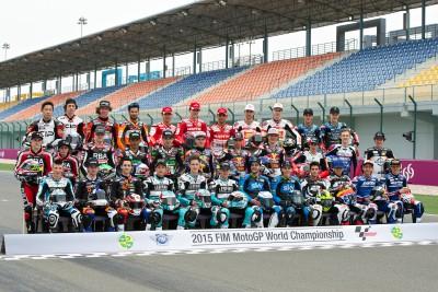 Neue junge Fahrer in der Moto3™ Klasse