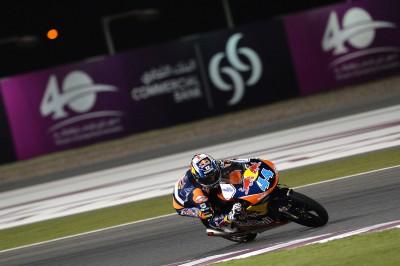 Oliveira, primero en el FP2 de Moto3™ en Qatar