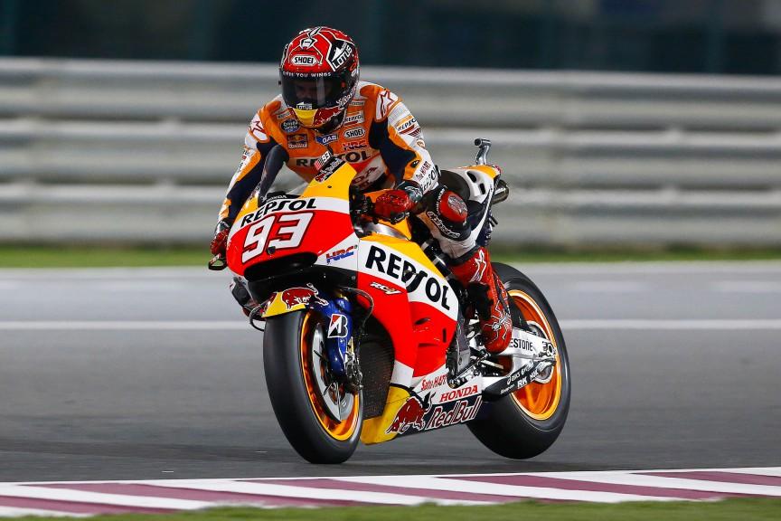 Marc Marquez, Repsol Honda Team, QAT FP2