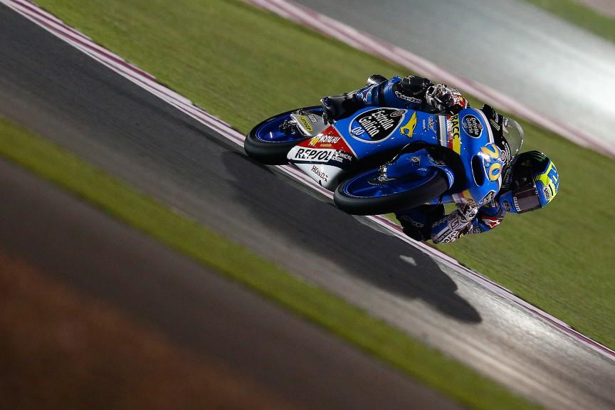 Moto3 Action, Qatar FP3