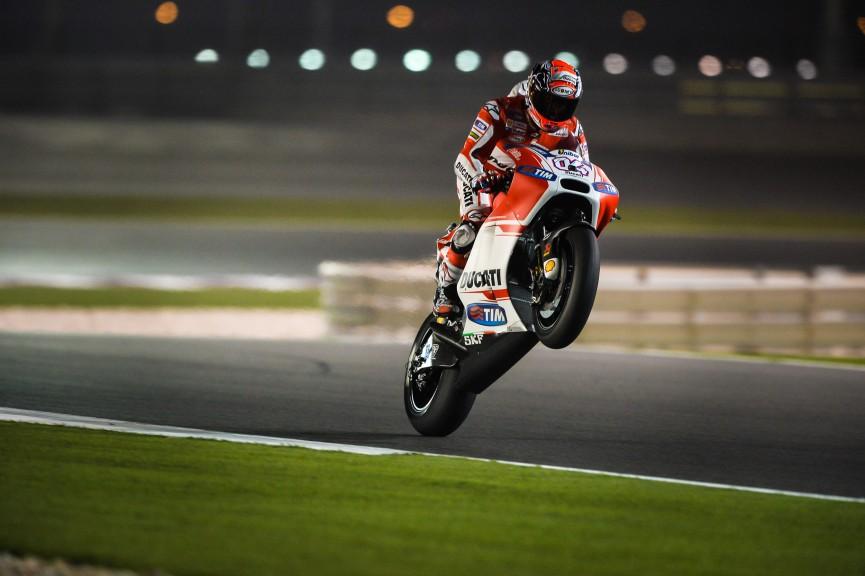 Andrea Dovizioso, Ducati Team, MotoGP Qatar FP2