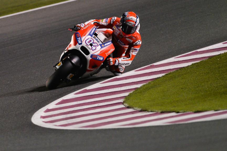 Andrea Iannone, Ducati Team, MotoGP Qatar FP2