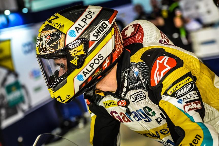 Thomas Luthi, Derendinger Racing Interwetten, Qatar FP2
