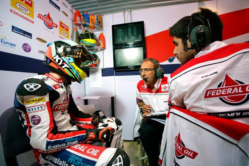 Xavier Simeon, Federal Oil Gresini Moto2, Qatar FP3