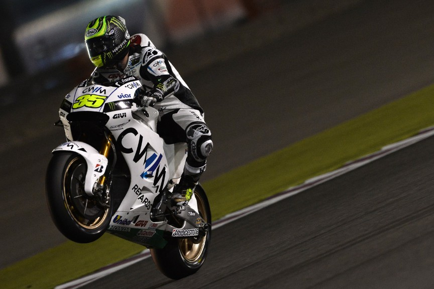 Cal Crutchlow, CWM LCR Honda, Qatar FP3