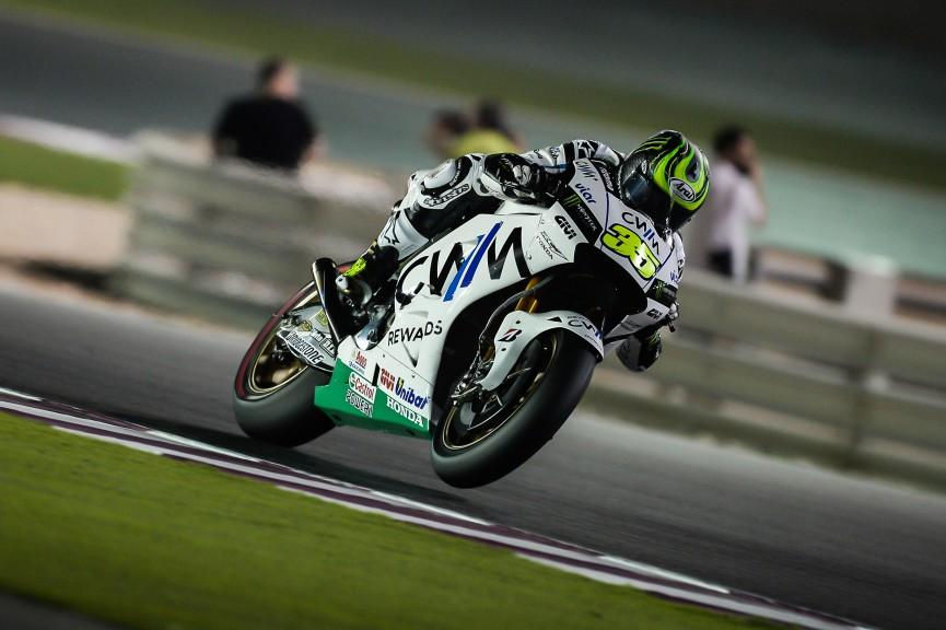 Cal Crutchlow, CWM LCR Honda, Qatar FP2