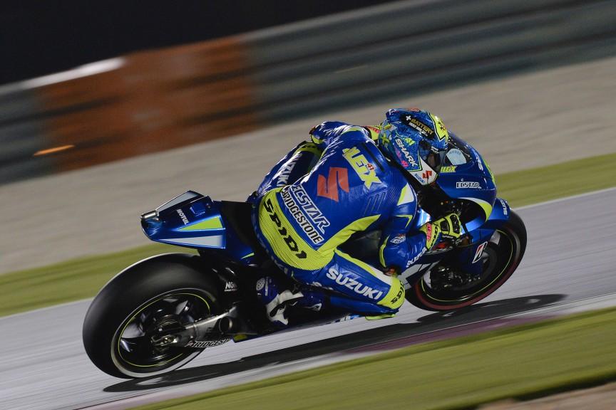 Aleix Espargaro, Team Suzuki MotoGP, Qatar FP3
