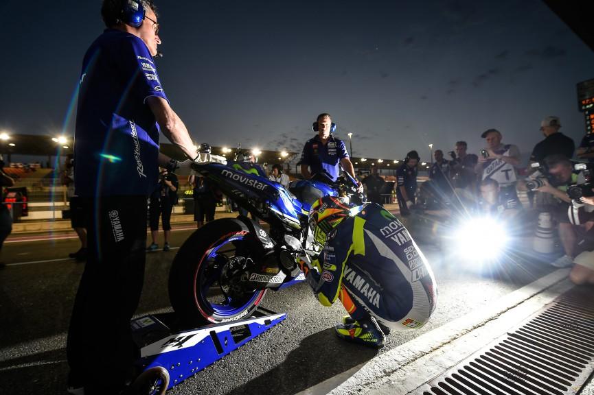 Valentino Rossi, Movistar Yamaha MotoGP, Qatar FP3