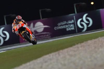 Márquez conclut la troisième séance en tête au Qatar