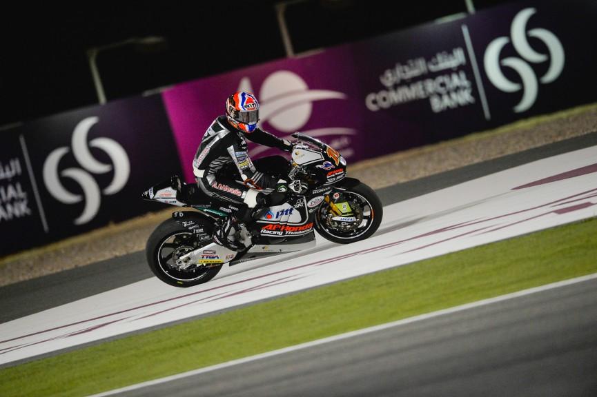 Moto2 Action, Qatar FP3