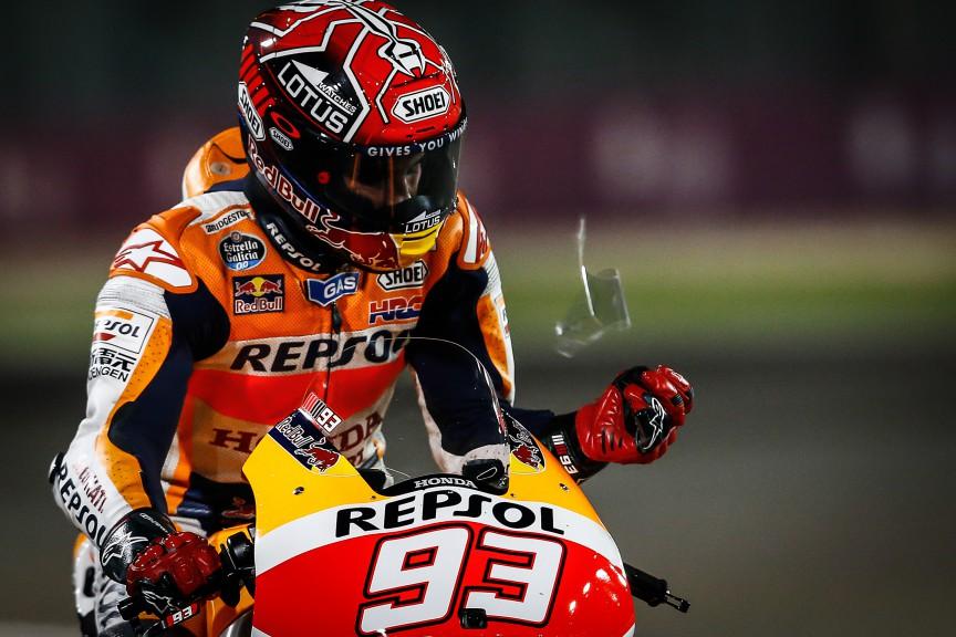 Marc Marquez, Repsol Honda Team, Qatar Q1