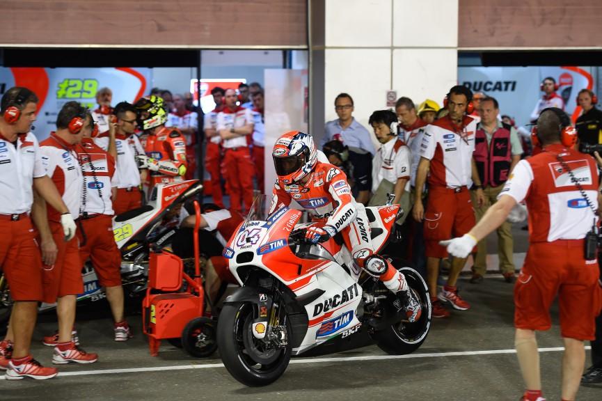 Andrea Dovizioso, Ducati Team, Qatar FP4