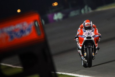 "Dovizioso: ""Tomorrow we can fight for the podium"""