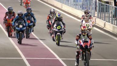 Les qualifications Moto3™ au Qatar
