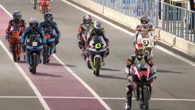 The full Qualifying session of the Moto3™ World Championship in Qatar.