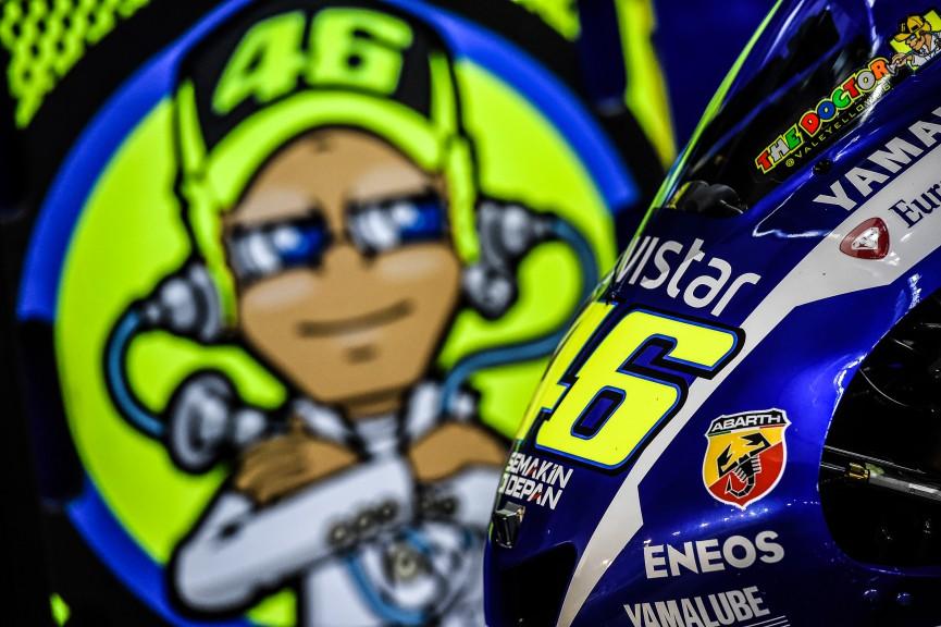 Valentino Rossi, Movistar Yamaha MotoGP, Qatar Q2