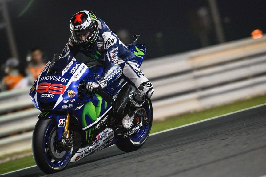 Jorge Lorenzo, Movistar Yamaha MotoGP, Qatar QP