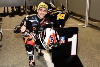 Masbou en pole pour l'ouverture de la saison Moto3™