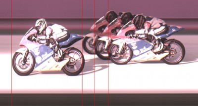 Photo Finish from the Shell Advance Asia Talent Cup Race 1!