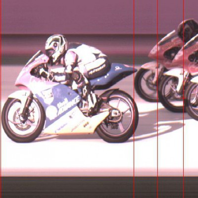 Photo Finish from the Shell Advance Asia Talent Cup Race 1