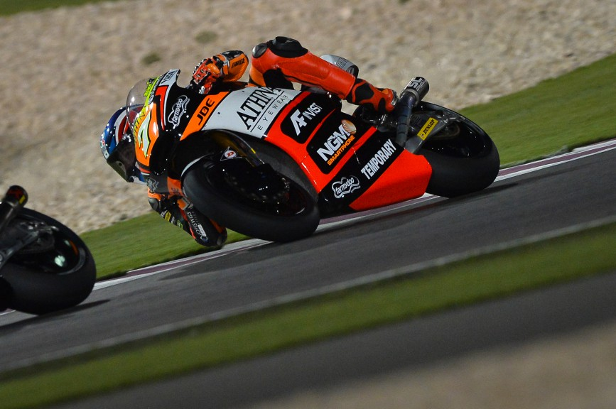 Lorenzo Baldassarri, Forward Racing, Qatar RACE