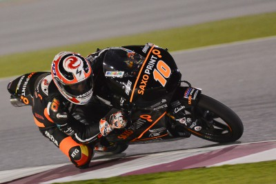 Masbou edges thrilling Moto3™ battle in Qatar
