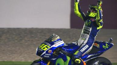 Rossi rules in the Desert