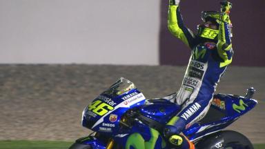 Rossi: Sieger in der Wüste