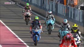 The full Warm Up session for the Moto3™ World Championship in Qatar.