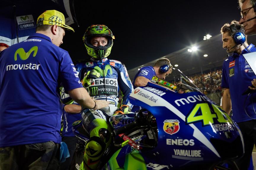 Valentino Rossi, Movistar Yamaha MotoGP, Qatar RACE © Alexandre Chailan & David Piolé