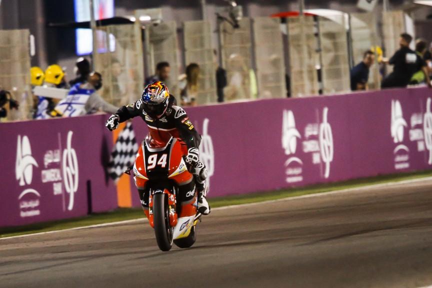 Jonas Folger, AGR Team, Qatar RACE