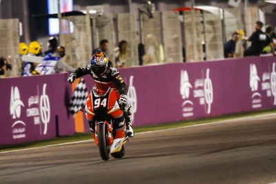 Folger wins dramatic Moto2™ race