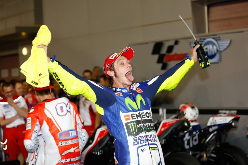 Valentino Rossi, Movistar Yamaha MotoGP, Qatar RACE