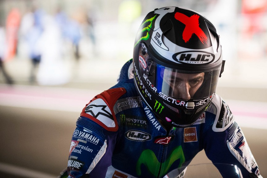 Jorge Lorenzo, Movistar Yamaha MotoGP, Qatar QP © 2015 Scott Jones, PHOTO.GP