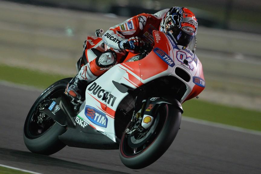 Andrea Dovizioso, Ducati Team, Qatar RACE
