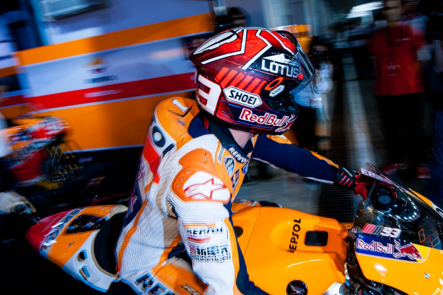 Marc Marquez, Repsol Honda Team, Qatar © 2015 Scott Jones, PHOTO.GP