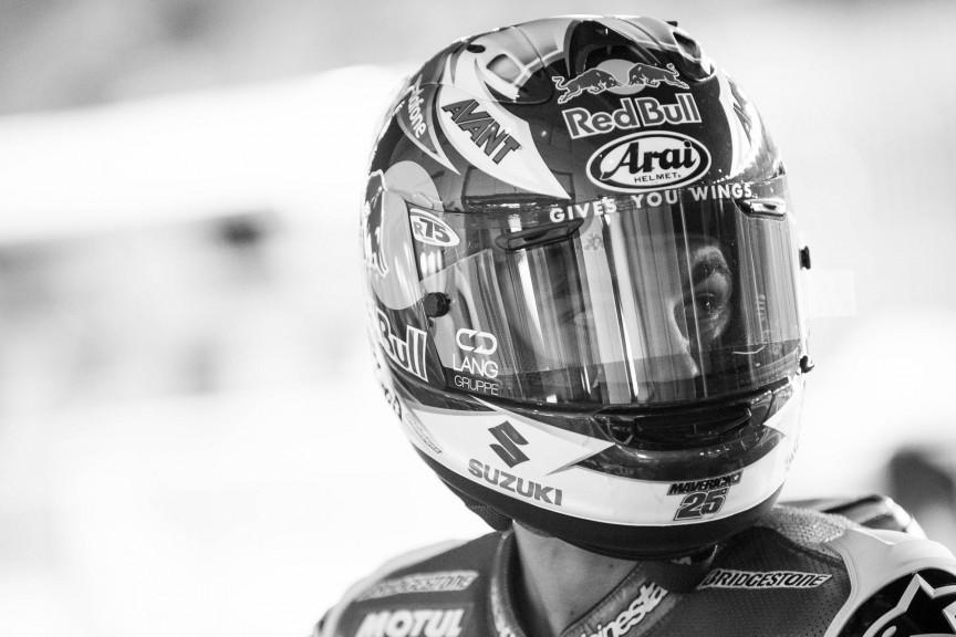 Maverick Viñales, Team Suzuki MotoGP, Qatar Q1 © 2015 Scott Jones, PHOTO.GP