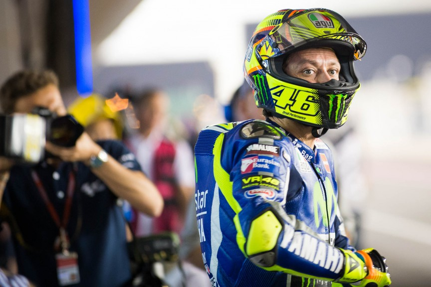 Valentino Rossi, Movistar Yamaha MotoGP, Qatar © 2015 Scott Jones, PHOTO.GP