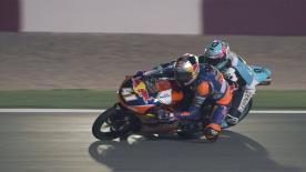 Some of the best overtaking moves from the weekend at the Commercial Bank Grand Prix of Qatar.