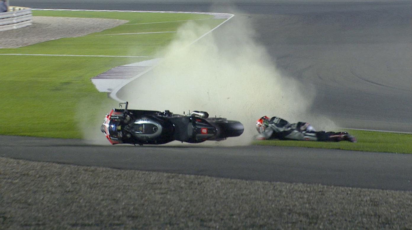 The biggest crashes from Qatar