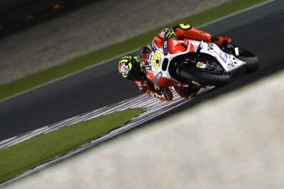 Iannone estreia-se no pódio e com a Ducati Team