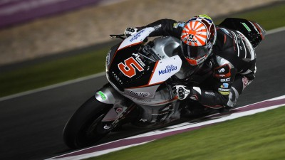 """Zarco: """"I had to make do with only using third gear"""""""