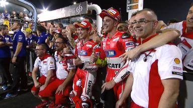 Ducati in Katar: Die Roten sind zurück!
