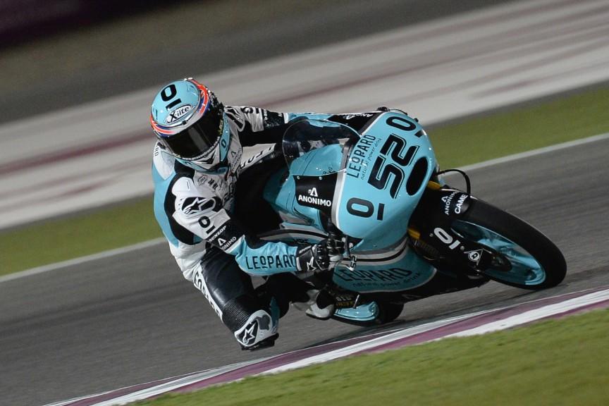 Danny Kent, Leopard Racing, Qatar