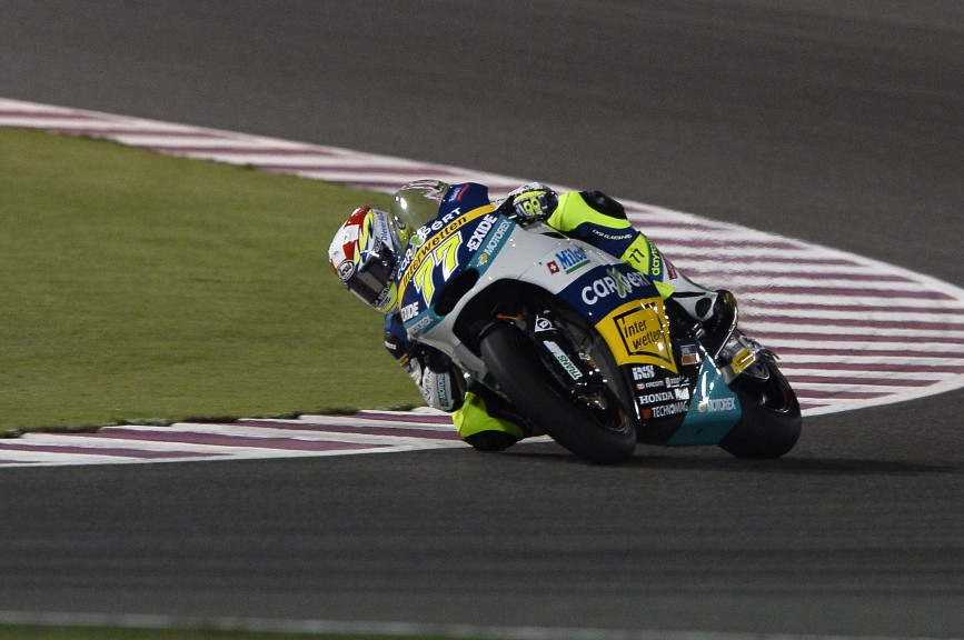 Dominique Aegerter, Technomag Racing Interwetten, Qatar