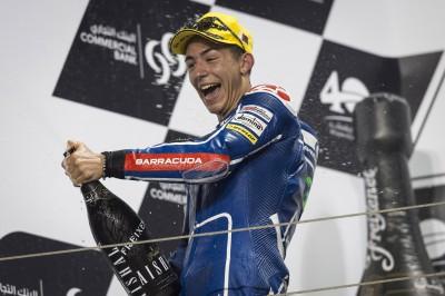 "Bastianini: ""He cambiado la forma de pilotar la moto"""