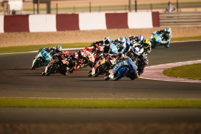 Moto3™ paddock heads to Austin for more elbow-bashing action
