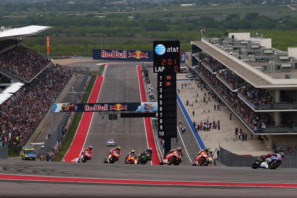 Bridgestone decides on tyre compounds for Austin | MotoGP™