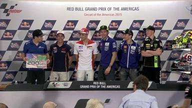 Press conference kicks off #AmericasGP